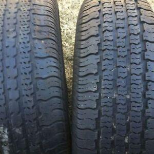 2 pneus d'été 195/70/14 Goodyear $30.00