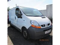 56 PLATE RENAULT TRAFFIC VAN