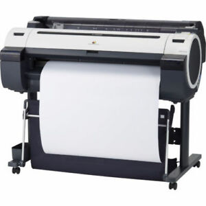 Canon iPF755 wide format plotter for sale 36''.