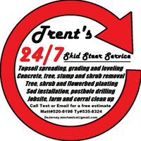 Trent's 24/7 Skid Steer Service/ Renovations