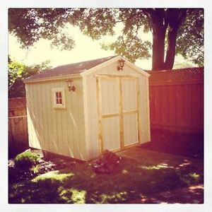 All Wooden Backyard Sheds - Custom Sizes & Options