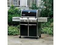 Weber Summit E-470 Intense Black BBQ and Accessories Total value £6208