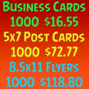 1000 business cards