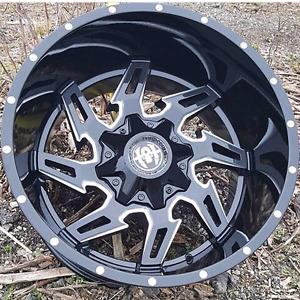 20 inch custom wheels in stock, many styles to choose from