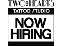 Two Hearts Tattoo Studio FULL TIME Receptionist/Studio Hand **NOT A APPRENTICESHIP**