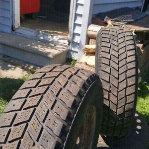195 70 R14 Hankook IPike Winter Tires On Rims Cambridge Kitchener Area image 3