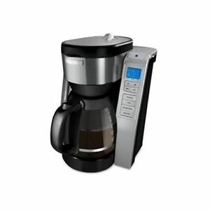 Black and Decker Stainless Steel Programmable 12-Cup Coffee Make