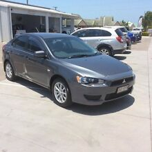 2011 Mitsubishi Lancer CJ MY11 SX Sportback Grey 6 Speed Constant Variable Hatchback Pialba Fraser Coast Preview