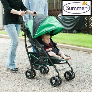 NEW SUMMER INFANT 3D ONE STROLLER - 123691861 - 3D ONE CONVENIENCE STROLLER BRILLIANT GREEN