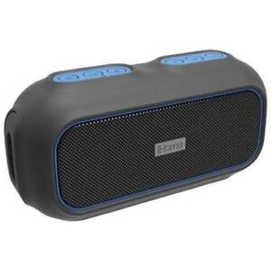 iHome IBT9BLC Waterproof Bluetooth Wireless Speaker - Black/Blue(New other)