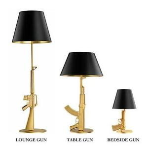 Gun Lamp Replicas: Lounge, Table and Bedside Gunlamps
