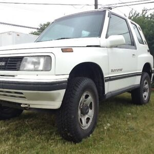 1993 tracker lifted