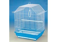 ALMOST NEW SMALL BIRDS CAGE. PERFECT CONDITION. WILL COME WITH EXTRAS. BS16.