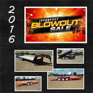 2016 Trailer Sale  - All 2016's on Sale