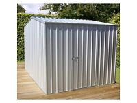 all steel garden sheds and garages