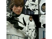 Wanted Hot Toys Sideshow 1/6 scale figures.