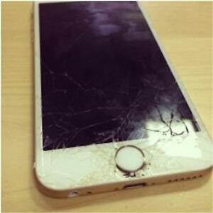 Iphone 4 5 5s 5c 6 6s Screen repair broken cell phone? w/warrant