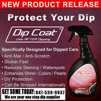 Dip Coat: Now you can wax AND protect your Plasti Dip Projects