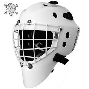 Coveted A5 Pro Goal Mask with stainless steel cat eye