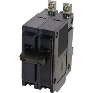 Eaton Type QBH 20-Amp Double-Pole Circuit Breaker.[new]