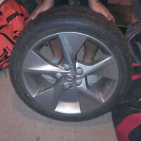 18 inch Toyota rims and tires (Best Offer)