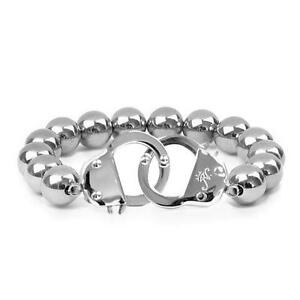 50% OFF All Jewellery - Stainless Steel | Beaded Cuff Bracelet