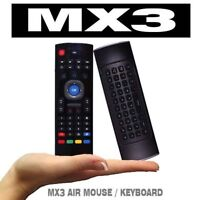 MX3 AIR MOUSE KEYBOARD LINUX ANDROID WINDOWS MAC OS SMART TV