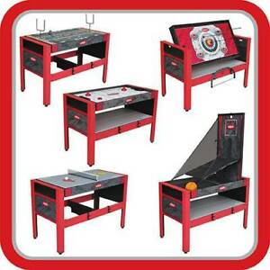 5 IN 1  GAMING TABLE