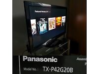 Panasonic TX-P42G20B INTERNET HD 1080P 42 inch TV
