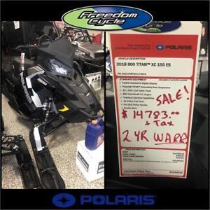 2018 POLARIS TITAN 800 XC 155 ES