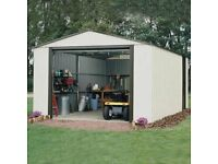 Brand new in boxes. 12 X 17 metal garage