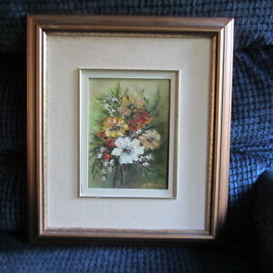 Framed Painting by E. Malleck Kitchener / Waterloo Kitchener Area image 1