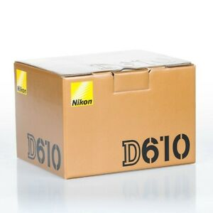 Nikon D610 Body, Boxed - Near Mint - Very Low Actuations
