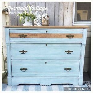 Refinished Antique Eastlake Dresser