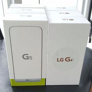 B-New Sealed Unlocked LG G4, LG G5, Wind+Worldwide