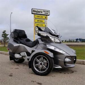 2012 Can-Am Spyder RT-S with SE5 Clutchless Shifting
