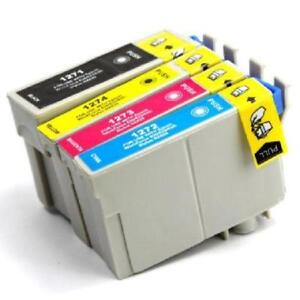 Epson T127 (BK-C-M-Y) High-Yield Compatible Combo Pack Ink Cartr