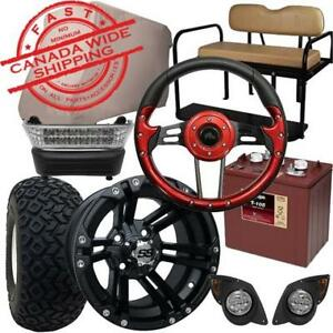 Golf Cart Parts & Accessories - Excalibur Custom Carts