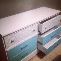 1970s Solid Beautiful Dresser - Renewed