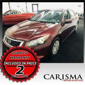 ~2008 Honda Accord~ 2 Year NAPA MVI & Lubrico Warranty Included~