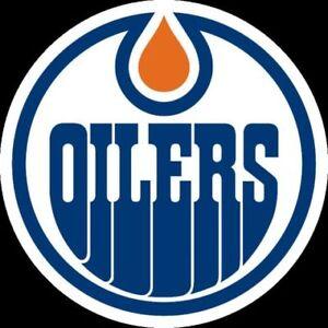PRICE PER PAIR! Edmonton Oilers Season Tickets - Sec 217,Row 4