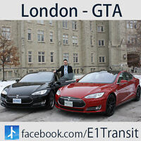 London to Mississauga / E1 Tesla Transit /Daily Ride Anytime