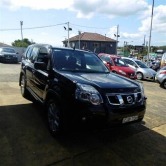 2012 Nissan X-Trail T31 MY11 TI (4x4) Black 6 Speed CVT Auto Sequential Wagon Croydon Burwood Area Preview