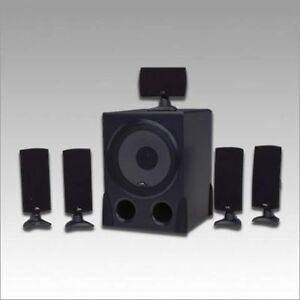 Cyber Acoustics CA-5001 80 W 5.1 Speaker Like-New Condition