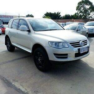 2008 Volkswagen Touareg 7L MY08 R5 TDI 4XMOTION Silver 6 Speed Sports Automatic Wagon St James Victoria Park Area Preview