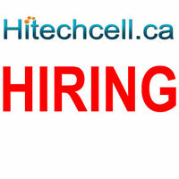 Retail customer service position available at a cell phone store