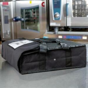 Black Insulated Nylon Deli Tray Bag *RESTAURANT EQUIPMENT PARTS SMALLWARES HOODS AND MORE*