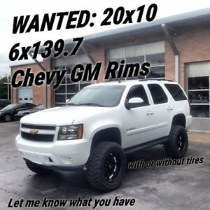 LOOKING FOR SOME 6 BOLT (6X139.7) GM CHEVY RIMS