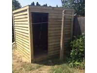 Shed 8ftwide x 8ft long x 7ft heigh handmade