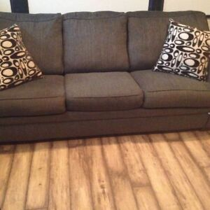 Mint Condition Couch and queen sofa bed 7'4""